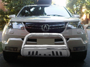 <b>07-09 Acura MDX</b> Stainless Steel 3inch Bull Bar with Skid Plate